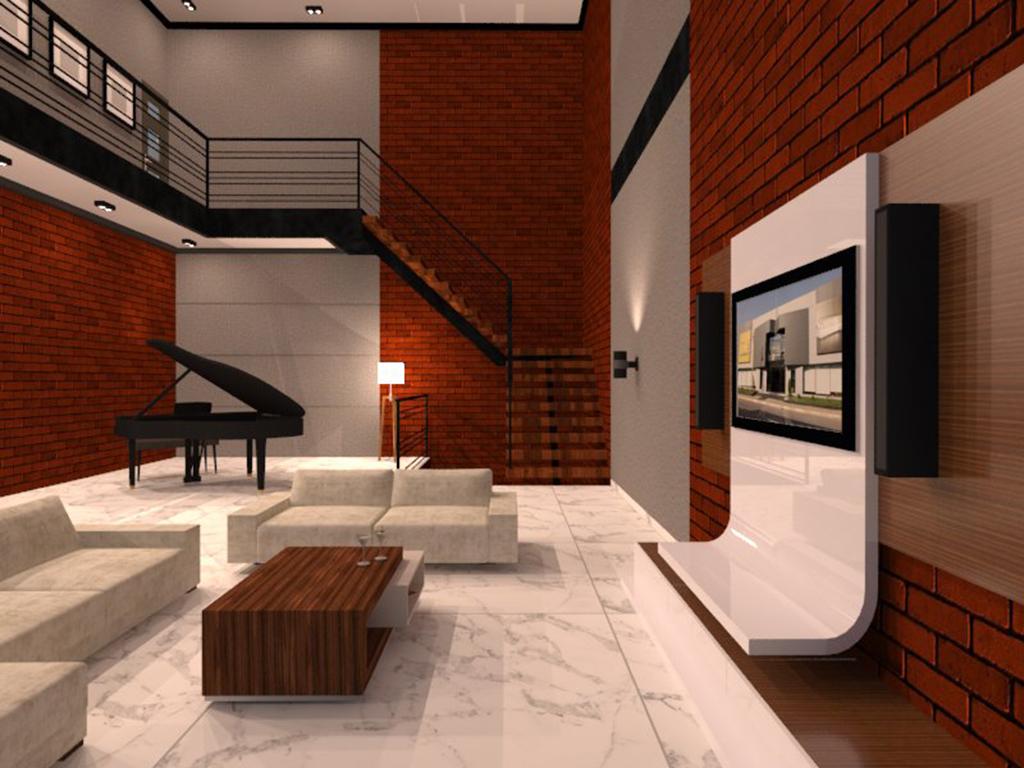 desain rumah di cibubur 2