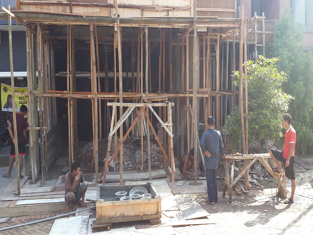 renovasi rumah discovery bintaro 5