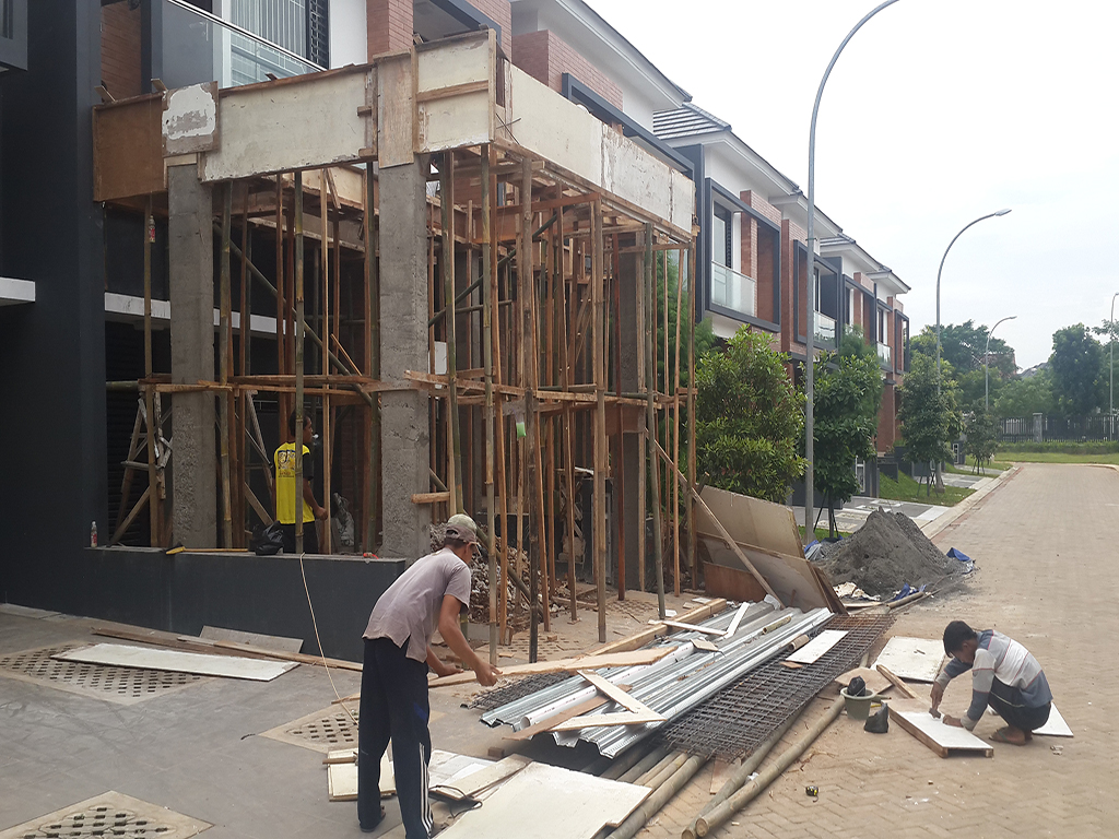 renovasi rumah discovery bintaro 6
