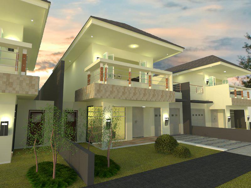 Desain Rumah di bsd