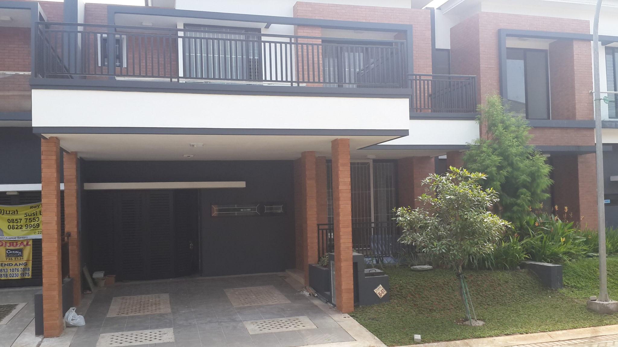 Renovasi Carport Rumah di Bintaro
