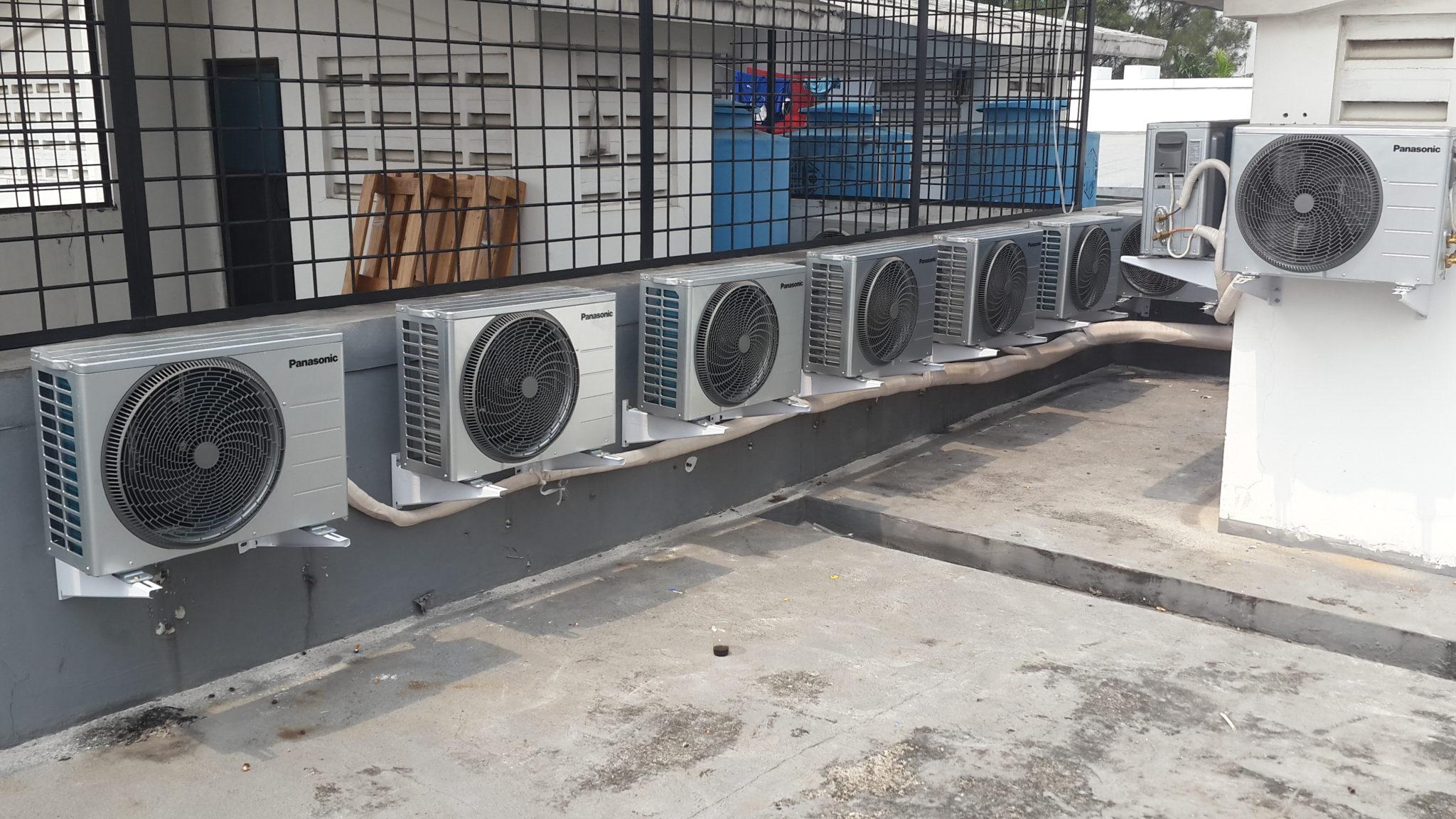 Kontraktor ME : Penataan outdoor AC