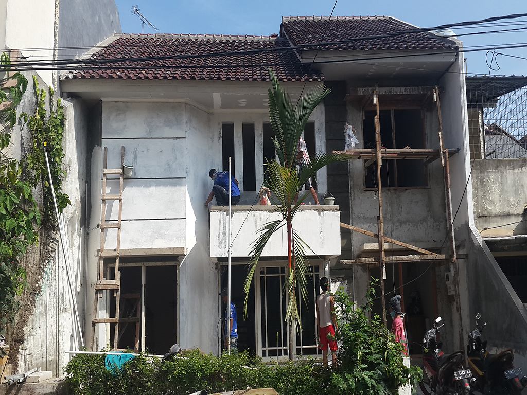 Jasa desain rumah dan proses konstruksi