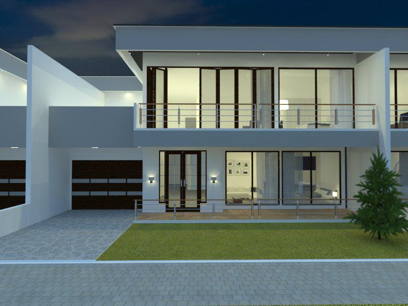 Contoh desain rumah oleh jasa desain rumah