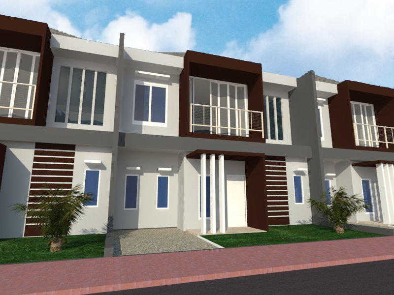 Membuat desain rumah minimalis